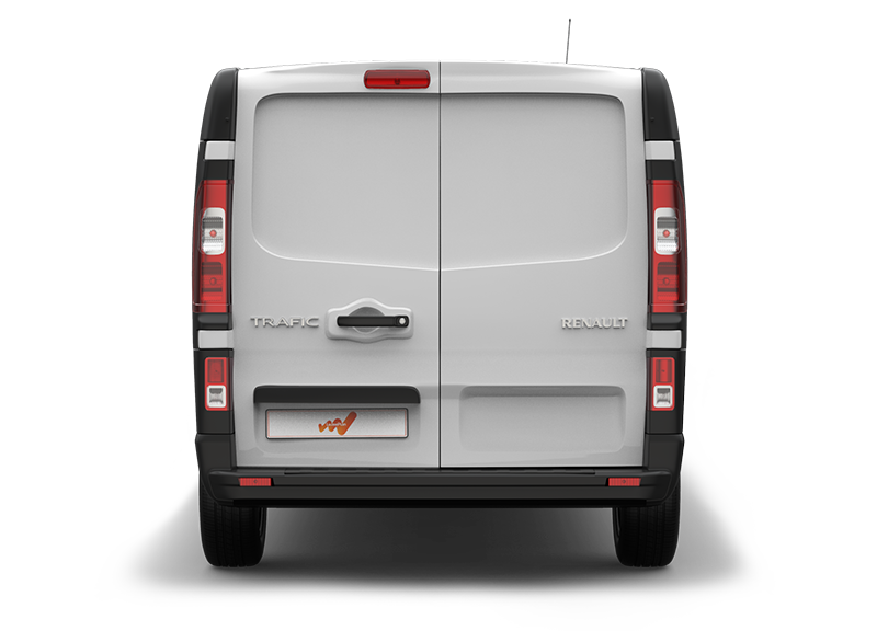 Renault Trafic Dubbele Cabine achterkant